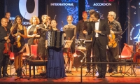 Hanzhi Wang won the 40th Castelfidardo International Accordion Competition